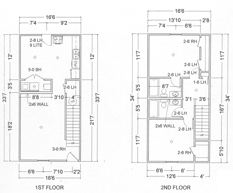 Townhouse Blueprints Group Picture Image By Tag